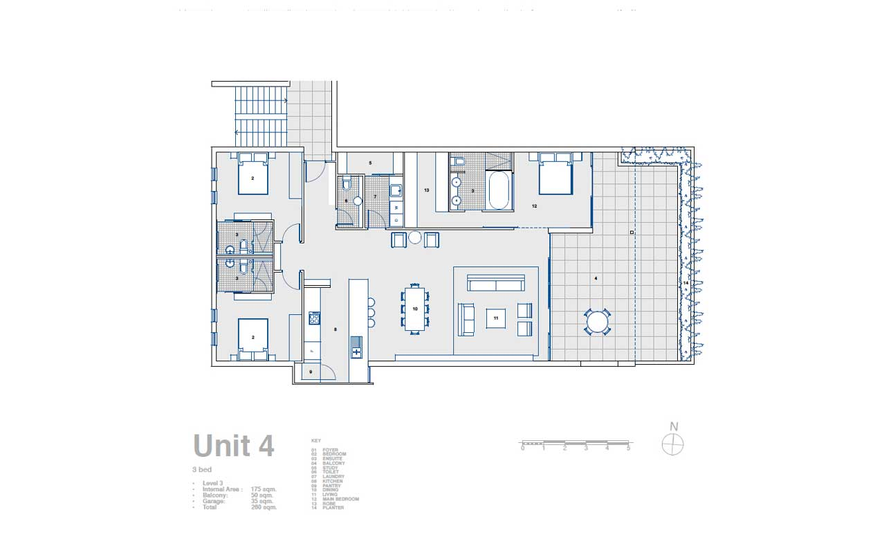 Atelier 41 architecture multi residential built for Multi unit apartment plans